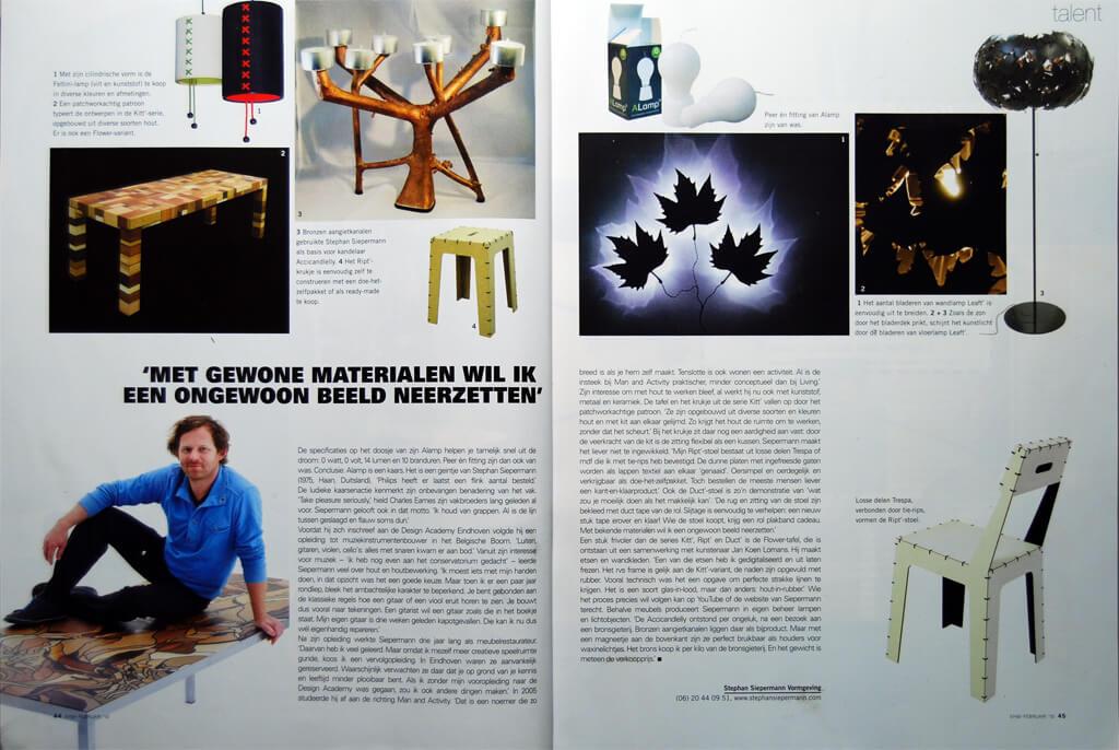 Eigen huis en interieur stephan siepermann for Huis en interieur tijdschrift